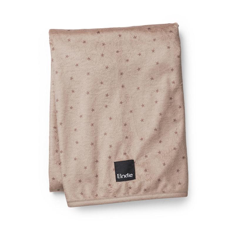 Elodie Details® Žametna odejica Northern Star Terracotta 75x100