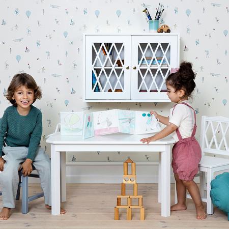 CamCam® Otroška miza Harlequin Dusty Rose