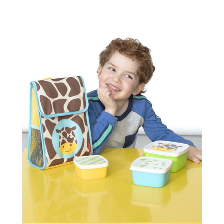 Skip Hop® Set škatlic za prigrizke Žirafa
