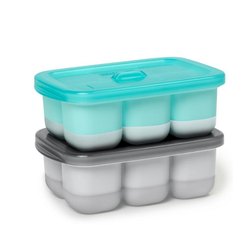 Skip Hop® Posodice za zamrzovanje otroške hrane  Grey/Teal