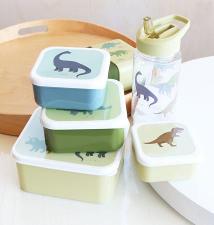 A Little Lovely Company® Škatlice za malico in prigrizke Dinozaver