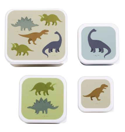 Slika A Little Lovely Company® Škatlice za malico in prigrizke Dinozaver