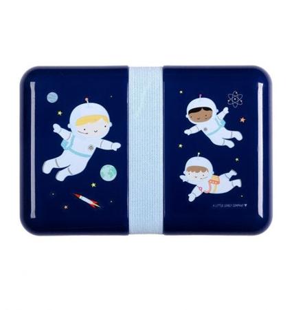Slika A Little Lovely Company® Škatlica za malico Astronavt
