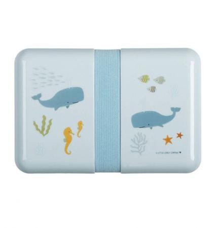 Slika A Little Lovely Company® Škatlica za malico Ocean