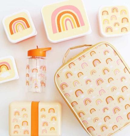 A Little Lovely Company® Škatlice za malico in prigrizke Mavrica