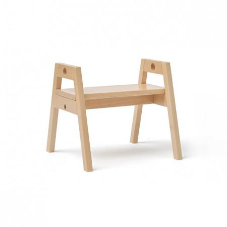 Slika Kids Concept® Lesen otroški stol/pručka Saga Blonde