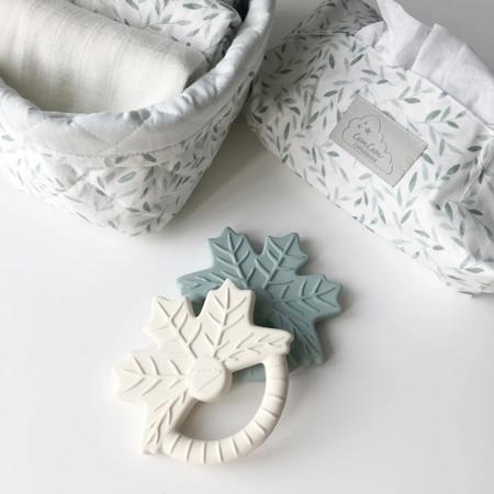 CamCam® Toaletna torbica za vlažilne robčke Green Leaves