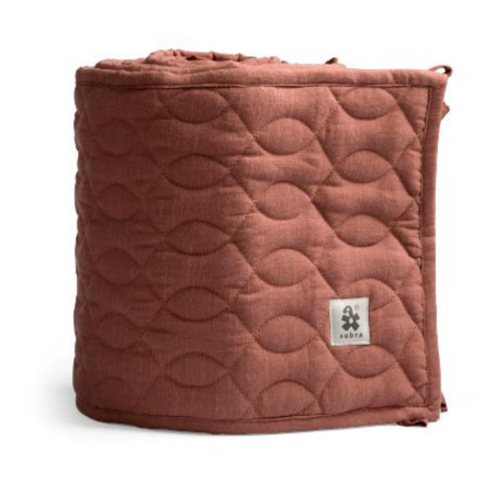 Slika Sebra® Obroba za posteljico Burgundy Red