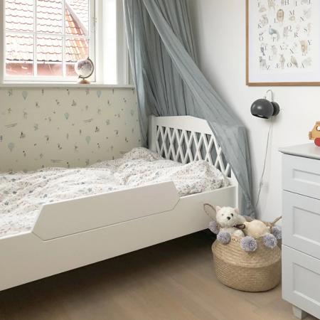 CamCam® Posteljno varovalo za posteljico Harlequin Junior Grey