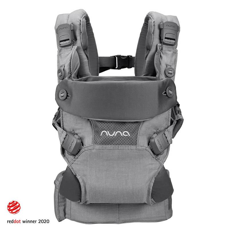 Nuna® Ergonomska nosilka Cudl™ Softened Front and Back Thunder