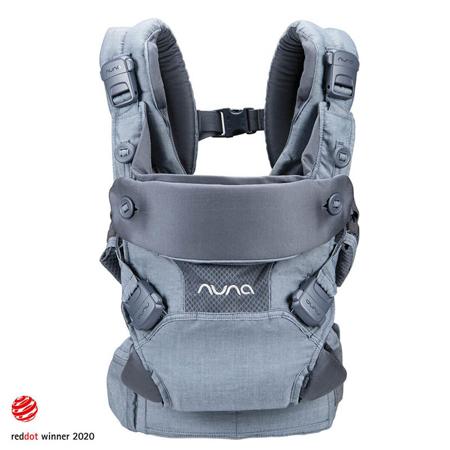 Slika Nuna® Ergonomska nosilka Cudl™ Softened Front and Back Denim