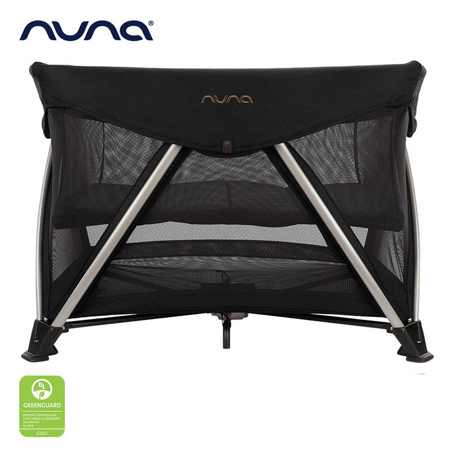 Slika Nuna® Prenosna posteljica Sena™ Aire + rjuha Riveted