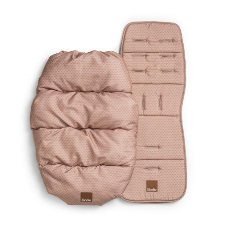 Slika Elodie Details® Zimska vreča z univerzalno podlogo Pink Nouveau