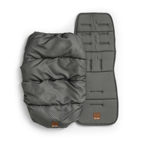 Slika Elodie Details® Zimska vreča z univerzalno podlogo Green Nouveau