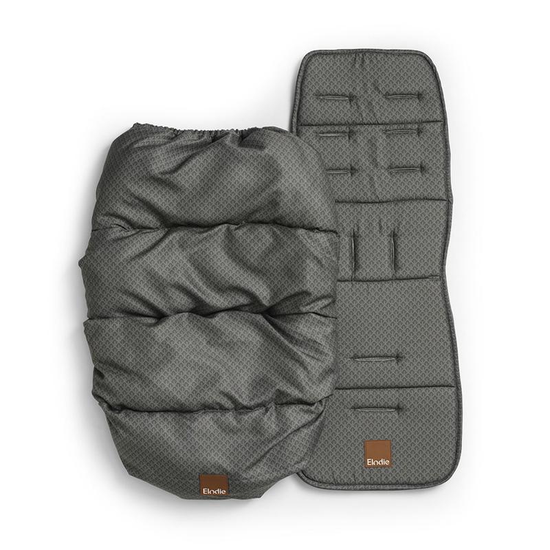 Elodie Details® Zimska vreča z univerzalno podlogo Green Nouveau