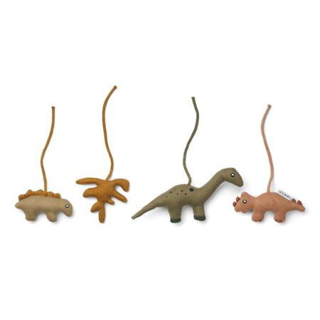 Liewood® Aktivnostne igračke Gio Dino Golden Caramel/Multi Mix