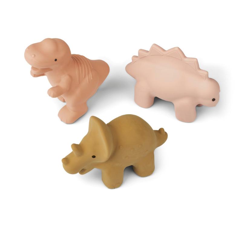 Liewood® Set 3 igračk za kopanje David Dino Rose Multi Mix