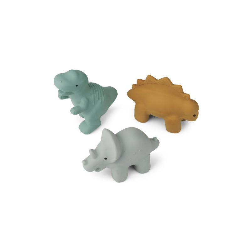 Liewood® Set 3 igračk za kopanje David Dino Blue multi Mix