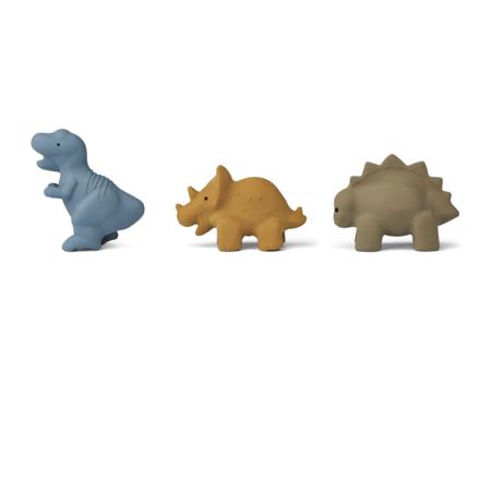 Liewood® Set 3 igračk za kopanje David Dino Multi mix