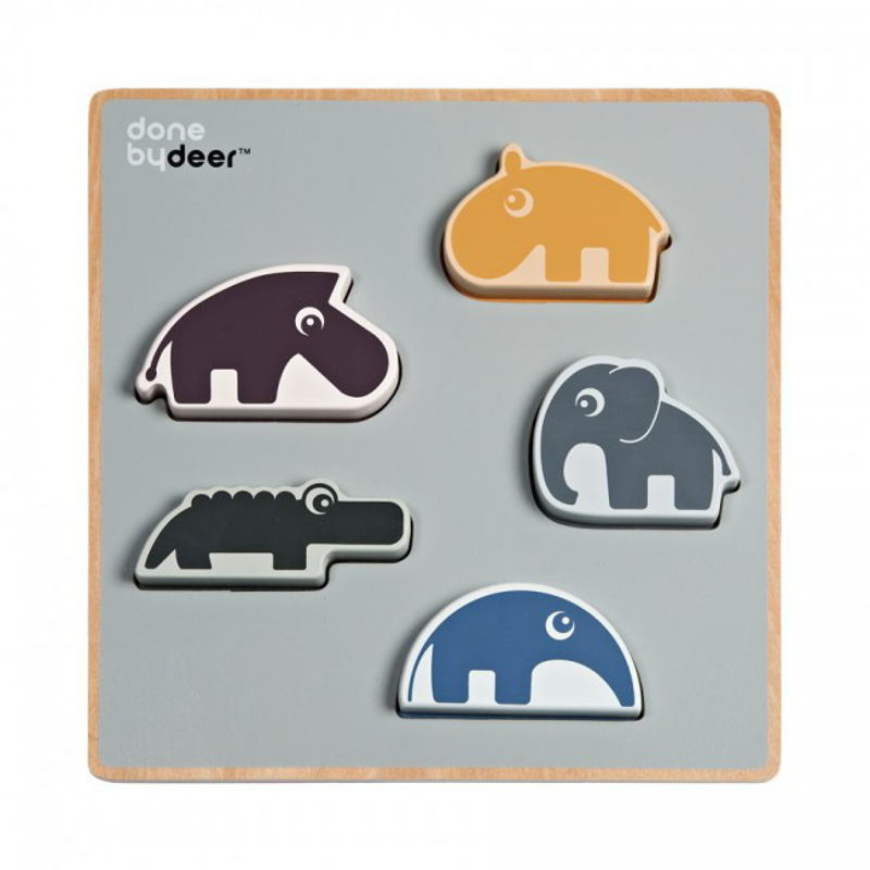 Done by Deer® Chunky play puzzle Deer Friends