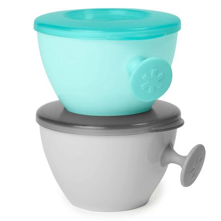 Skip Hop® Set posodic za hranjenje in shranjevanje Grey/Soft Teal