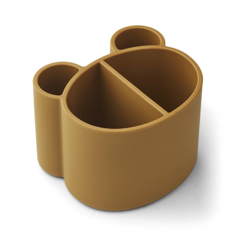 Liewood® Univerzalni silikonski lonček Sandra Golden Caramel
