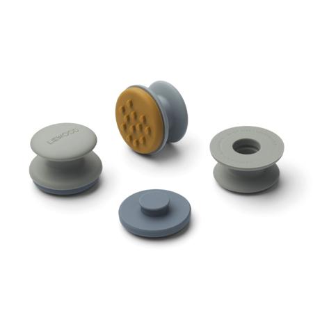 Slika Liewood® Set 12 žigov iz silikona Earl Blue Multi Mix