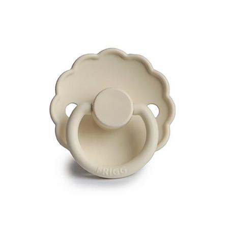 Frigg® Duda iz silikona Daisy Cream (0-6m)