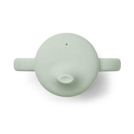 Liewood® Skodelici za učenje pitja iz silikona Neil Mint Mix 2 kosa