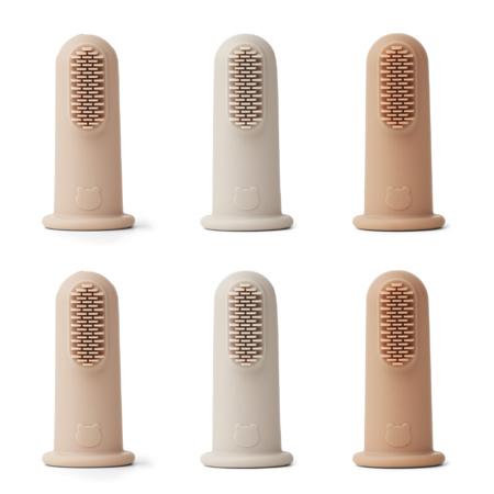 Liewood® Zobna ščetka za na prst 6 kosov Rose Multi Mix