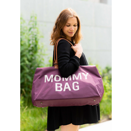 Childhome® Previjalna torba Mommy Bag Aubergine