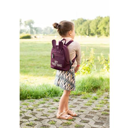 Childhome® Otroški nahrbtnik My First Bag Aubergine
