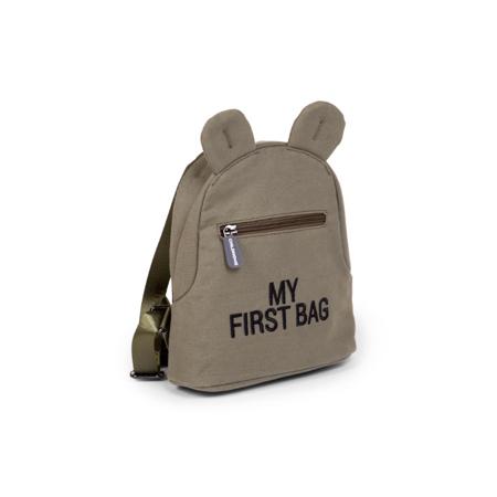 Childhome® Otroški nahrbtnik My First Bag Kaki