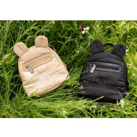 Childhome® Otroški nahrbtnik My First Bag Zwart