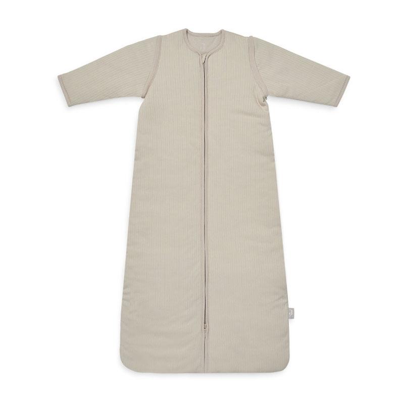Jollein® Otroška spalna vreča s snemljivimi rokavi 90cm Stripe Nougat TOG 3.5