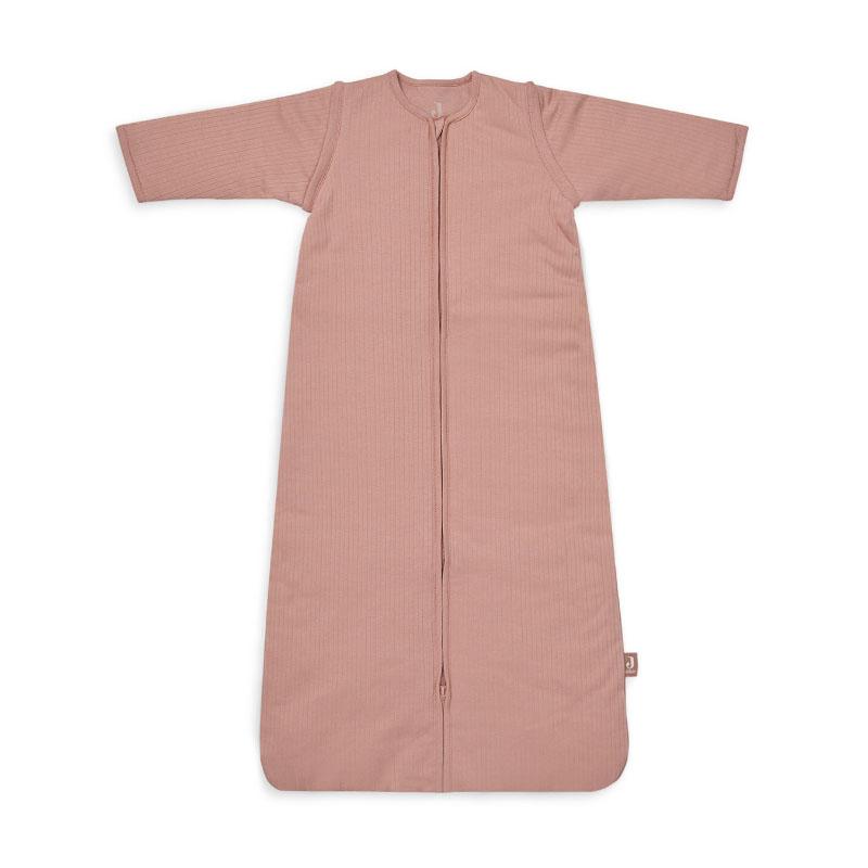 Jollein® Otroška spalna vreča s snemljivimi rokavi 110cm Stripe Rosewood TOG 3.5