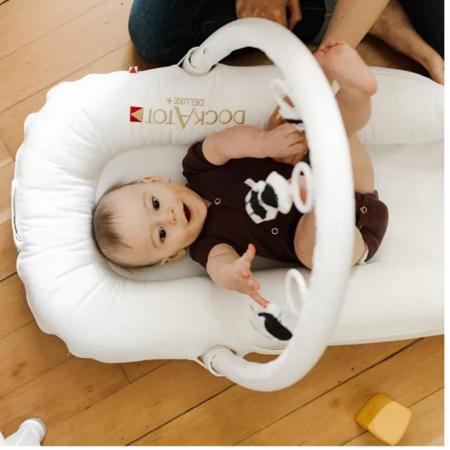 DockAtot® Igralni lok za gnezdece Deluxe+ Pristine White PRISTINE WHITE