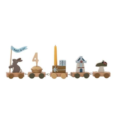 Slika Bloomingville® Dekoracija za rojstni dan Brown