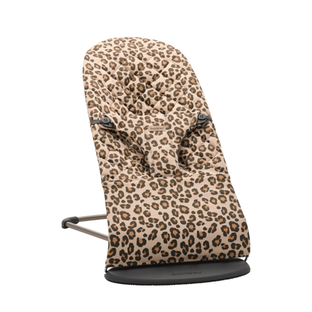 Slika BabyBjörn® Gugalnik Balance Bliss Cotton Classic Quilt Beige/Leopard