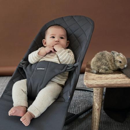 BabyBjörn® Gugalnik Balance Bliss Cotton Classic Quilt Anthracite