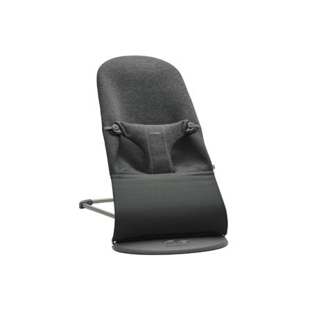 Slika BabyBjörn® Gugalnik Balance Bliss 3D Jersey Charcoal Grey