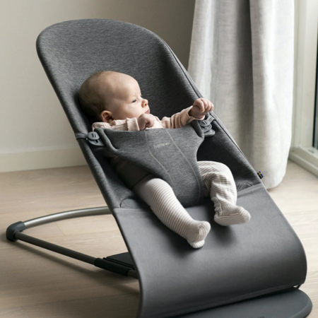BabyBjörn® Gugalnik Balance Bliss 3D Jersey Charcoal Grey