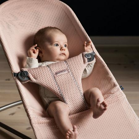 BabyBjörn® Gugalnik Balance Bliss Mesh Pearly Pink