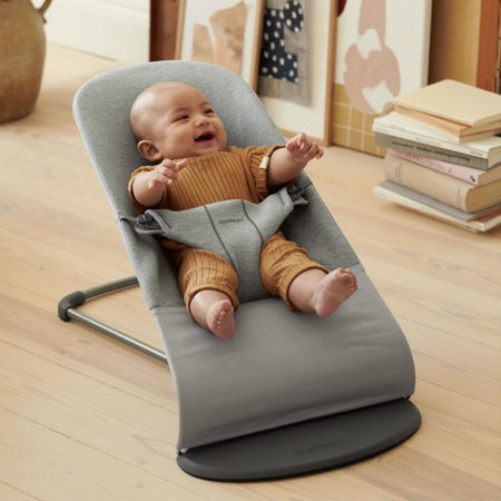 BabyBjörn® Gugalnik Balance Bliss 3D Jersey Light Grey
