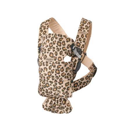 Slika BabyBjörn® Ergonomska nosilka MINI Cotton Beige/Leopard