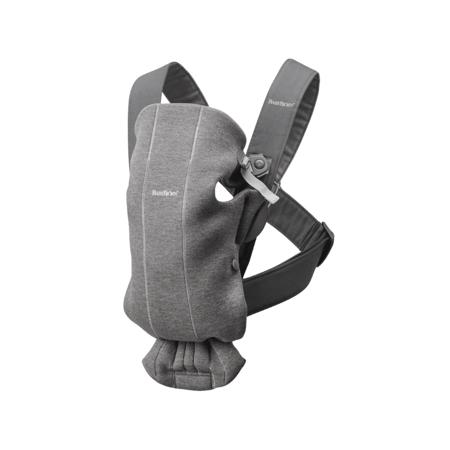 Slika BabyBjörn® Ergonomska nosilka MINI Jersey Dark Grey