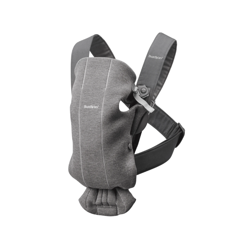 BabyBjörn® Ergonomska nosilka MINI Jersey Dark Grey