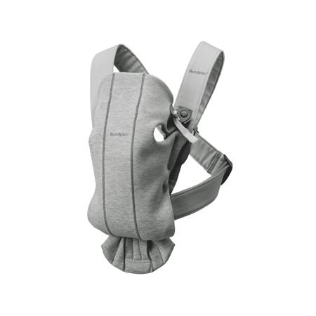 Slika BabyBjörn® Ergonomska nosilka MINI Jersey Light Grey