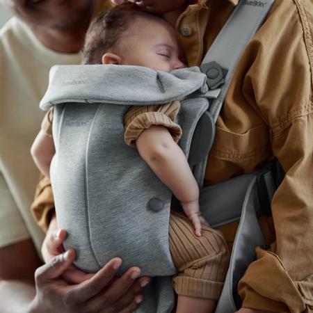 BabyBjörn® Ergonomska nosilka MINI Jersey Light Grey