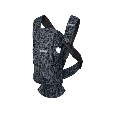 Slika BabyBjörn® Ergonomska nosilka MINI Mesh Anthracite/Leopard